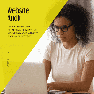 Level up your website and brand with Bklyn Custom Designs Website Audit